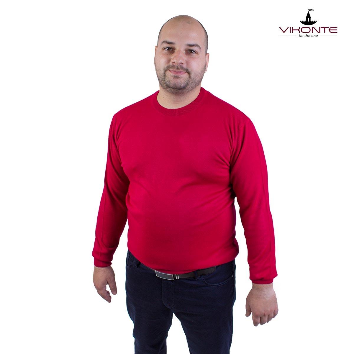 Големи размери мъжки пуловери