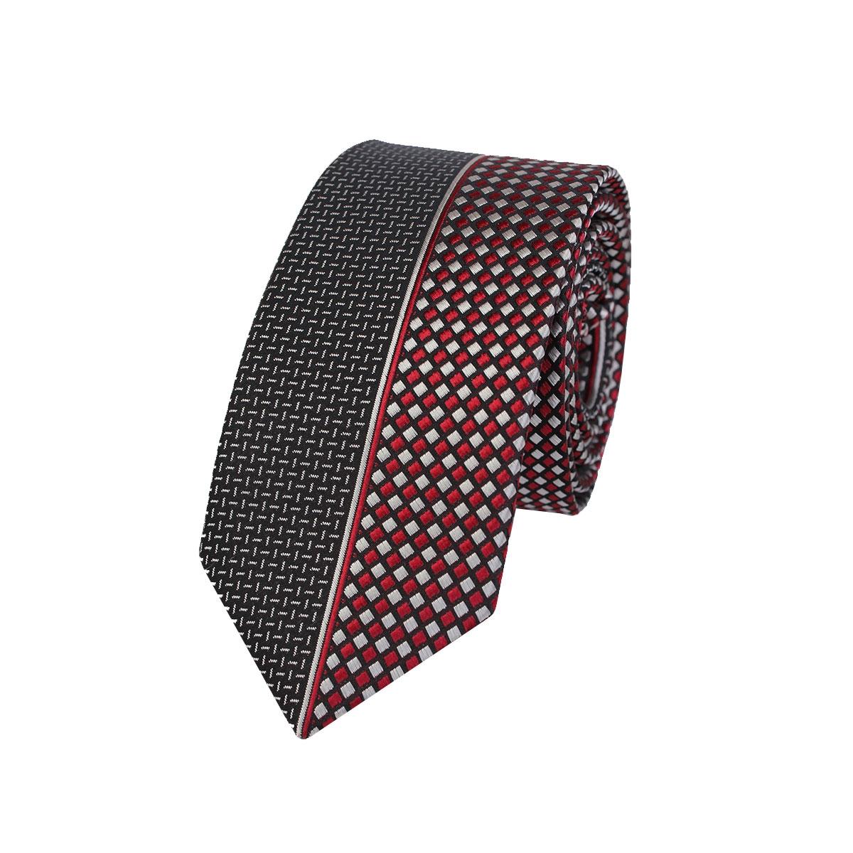 мъжка вратовръзка с цветни орнаменти