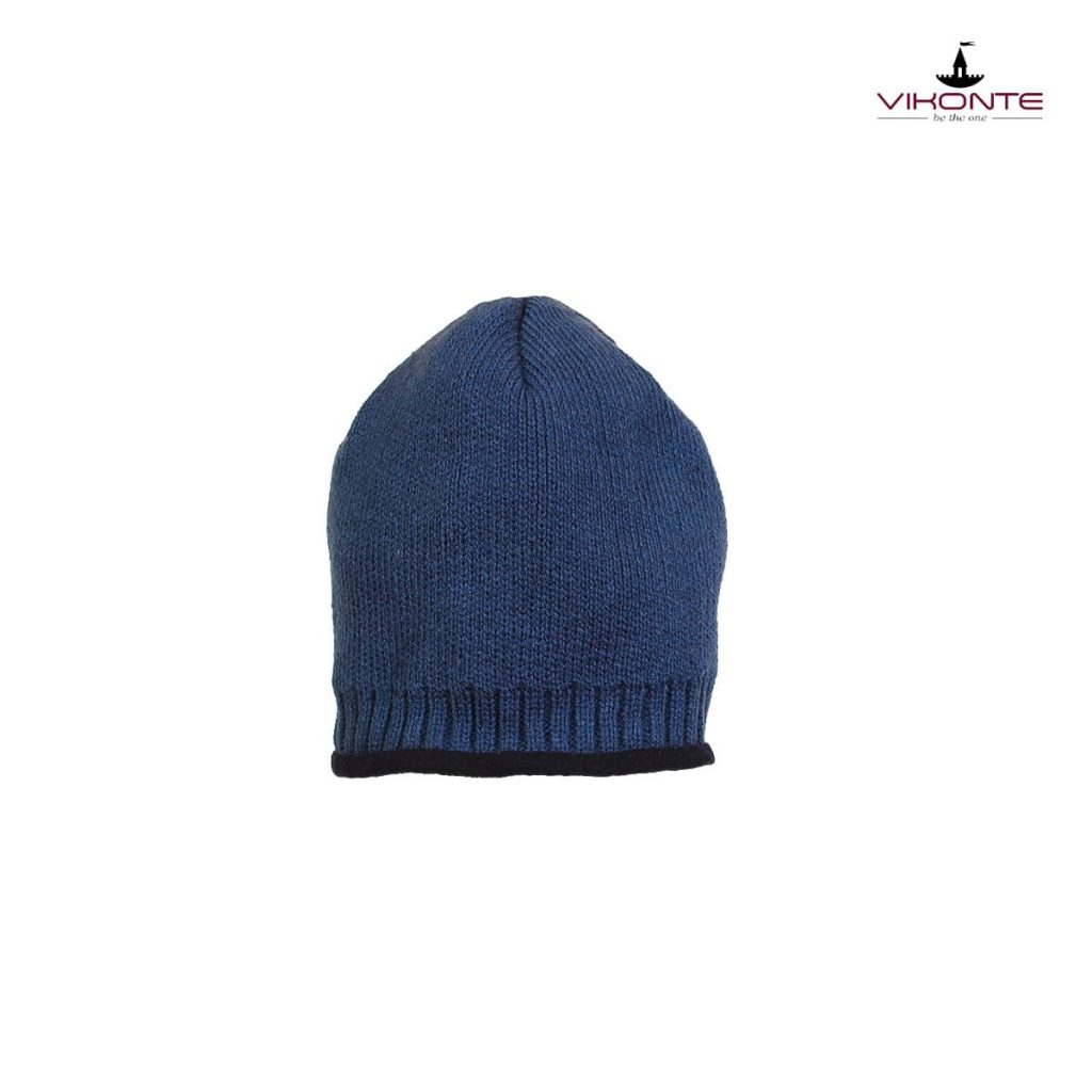 Мъжка шапка син полар