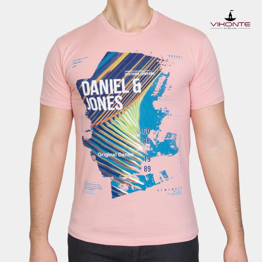 Мъжка тениска с щампа